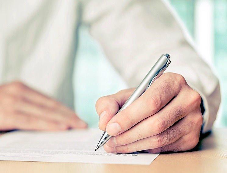 Как написать доверенность для мфц от руки