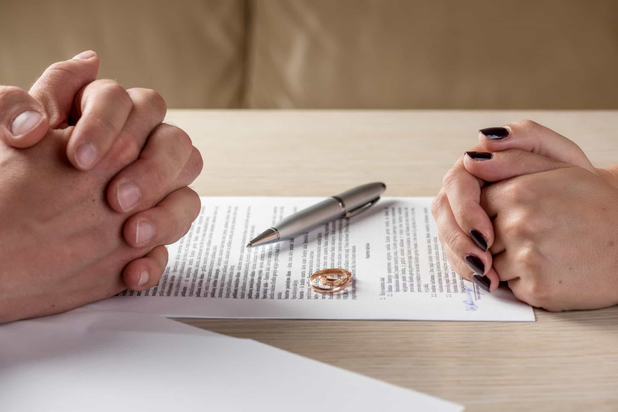 расторжение брака фиктивным